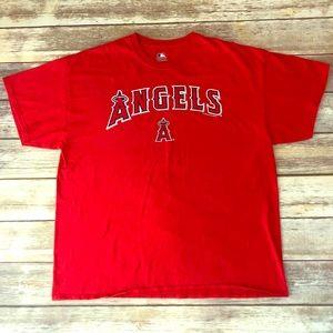 MLB LA Angels of Anaheim Men's T Shirt Size XL